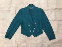 Giesswein Austrian Boiled Wool Blazer Jacket Womens Size 40/Medium