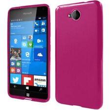 Fundas y carcasas color principal rosa de silicona/goma para teléfonos móviles y PDAs Nokia