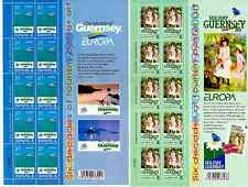 2003 GUERNSEY EUROPA CEPT - MINI SHEET WITH EXTRA DESIGN MNH
