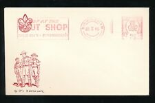 GB 1965 METER CANCEL SLOGAN SCOUT SHOP ILLUSTRATED BADEN POWELL BIRTHDAY