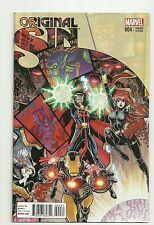 Original Sin #4 (2014) Nm Black Widow Iron Man Interlock Art Adams 1:10 Variant
