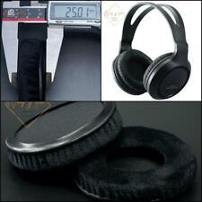 Thick Velour Velvet Ear Pads Cushion For Panasonic RP-HT161 Headphone