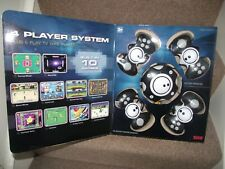4 Player Game System Retro Plug & Play TV Game Player with 10 Built in Games ABL
