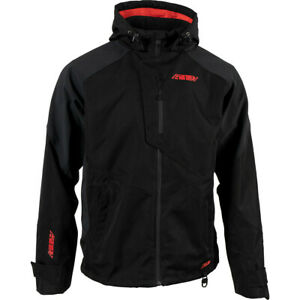 New 2021 509 Evolve Snowmobile Jacket Shell, Black with Red, Large, LG, L