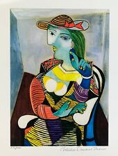 """Pablo Picasso MARIE THERESE WALTER Estate Signed & Numbered Giclee Art 14"""" x 11"""""""