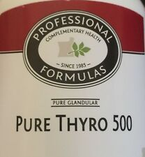 BEST PURE THYRO 500 NEW ZEALAND GLANDULAR SUPPLEMENTS 7.6 GRAINS THYROID TISSUE