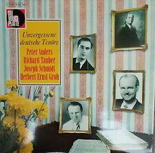 LP unvergessene tedesca Tenors-Peter diversamente Richard Tauber Joseph Schmidt, è VG +