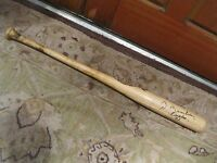 Al Bumbry Game Used Autographed Baseball Bat Louisville Slugger C243