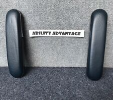 """10"""" Wheelchair Armrest Pads, EXTRA DENSITY FOAM ARM PADS, Indica.  NEW PAIR !!!"""