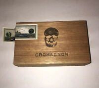 Cromagnon Bruil By Roma Craft Tabac Hand Made Empty Wooden Cigar Box Humidor