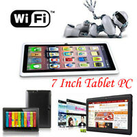 7 Inch Google Android 4.4 Tablet PC 8GB WIFI Quad Core Dual Camera A33 Tablet