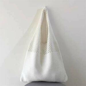 Hollow Woven Summer Beach Handbags Braid Shoulder Bag Baguette Large Tote UK
