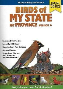 Birds of My State or Province Version 4 (CD-ROM, 2010)