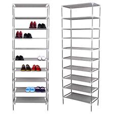 Schuhregal 10 Ebenen Schuhständer Schuhablage Stecksystem Schuhschrank