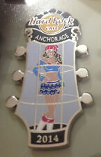 Hard Rock Cafe / ANCHORAGE / Go Go Girls Series / 2014 / Pin