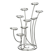Cake Stand Holding Upto 9 Cupcakes Made With Durable Lightweight Metal  Swirls G