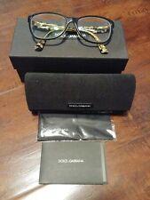 Dolce & Gabbana DG 3174 2744 Women Eyewear Optical Frame DEMO Lenses Black A1/16
