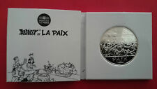ASTERIX  GAUL 50 EURO PROOF SILVER - PEACE THE BANQUET WITH CESAR & CLEOPATRE