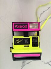 Vintage Working Rare Neon Polaroid Cool Cam Made in United Kingdom