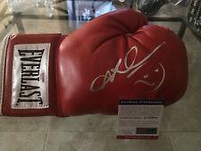 Sugar Ray Leonard Signed/Auto Everlast Boxing Glove Undisputed Champ PSA/DNA #2