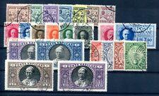 VATIKAN 1929 1-15,17-20,30-33 gest gute WERTE und SÄTZE 240€(A7840