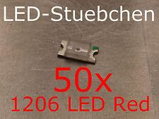 50x 1206 LED Rot