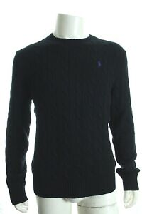 BNWT RALPH LAUREN ROVING CABLE CREWNECK SWEATER JUMPERS LONG SLEEVE SZ L RP£110