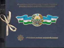 Uzbekistan Usbekistan MNH** 2017 Mi.1191-99 Booklet Death President - see Text