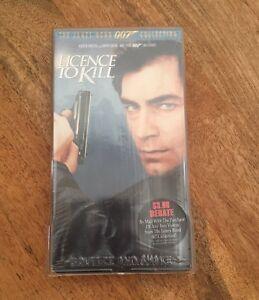 License To Kill VHS 1989 Timothy Dalton The James Bond 007 Collection