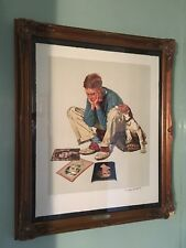 """Norman Rockwell """"Starstruck"""" Signed, Limited Edition, Lithograph"""