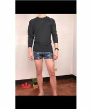 MEN'S RASH GUARD WITH SWIMMING TRUNKS