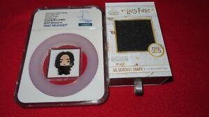 2021 Harry Potter Chibi - Severus Snape 1oz .999 Silver NGC PR70 Niue $2 Coin