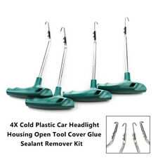 Car Cold Plastic Headlight Housing Open Tool Set Cover Glue Sealant Remover Kit