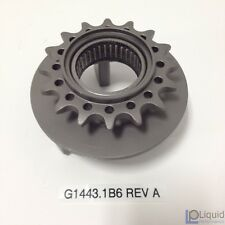 EBR TRANSMISSION OUTPUT SPROCKET, 16 TOOTH, W/ NEEDLE BEARING (G1443.1B6 Rev A)