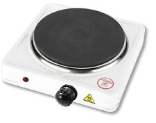 New Single Ring 1500W Portable Electric Hot Plate Hob Caravan/Camping/Home Stove