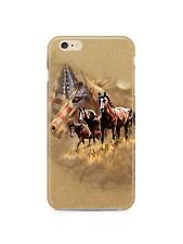 American Flag USA Horse iPhone 4S 5 5S 5c 6 6S 7 8 X XS Max XR Plus Case