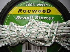 5MTRS X 4mm NYLON RECOIL PULL CORD STARTER ROPE QUALCAST PETROL LAWNMOWERS