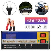 Cargador de batería inteligente para coche 12/24V 100Ah 160W Car Battery Charger