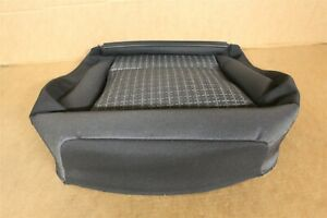 VW Polo 6R 15-18 Left front Seat base Fabric Cover Black grey 6C0881405BEDG New