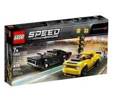 LEGO 75893 Speed Champions Dodge Challenger SRT Demon & 1970 Dodge Charger R/T