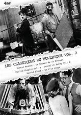 DVD Les Classiques du Burlesque – Vol 2 – Coffret 4 DVD