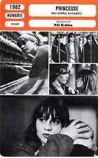 FICHE CINEMA : PRINCESSE - Ozsda,Szendrei 1982 Adj kiraly katonat/The Princess