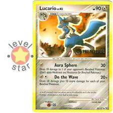 LUCARIO Metal Platinum Player Prerelease Event Promo 53/127 Pokemon Card
