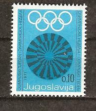 Yugoslavia # Ra40 Olympic Rings And Disk