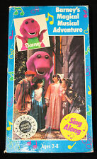 Barney Barney's Magical Musical Adventure VHS Tape 1993 Sing Along In Box