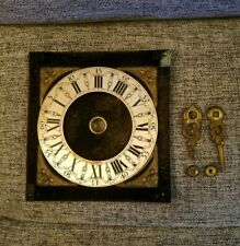 DIAL RING WITH VELVET BACK, HANDS  FOR DUTCH ZAANDAM OR ZAANSE WALL CLOCK