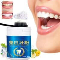 New Magic 100% Natural Pearl Tooth Brushing Powder Physical Teeth Whitener BF