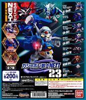 BANDAI Mobile Suit Gundam All 7 (type) set Gashapon toys Miniature Figure