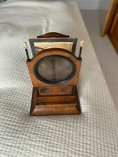 More details for large antique graphoscope wooden folding stereo viewer c 1870