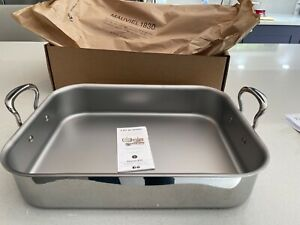 Mauviel M'Cook Roasting pan with handles 40cm x 30cm (Brand New)